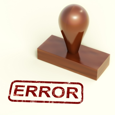 common credit report errors